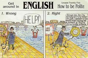 English politeness