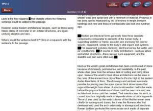 TOEFL reading example